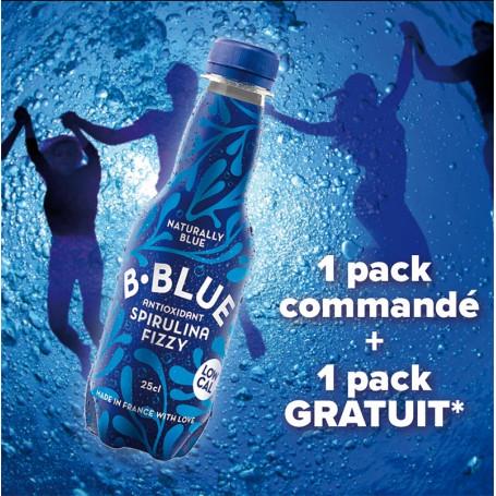 B-Blue Fizzy 25cl pack 6 + 6 GRATUITES