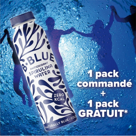 B-Blue Wellness 33cl pack de 6 + 6 GRATUITES