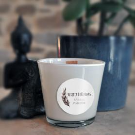 NESSITA CREATIONS bougie parfumée (diam.75)