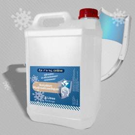 Recharge Solution hydroalcoolique 5 Litres