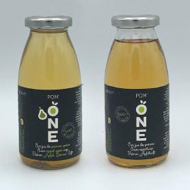 Jus de pomme + pomme-poire 25cl pack de 12
