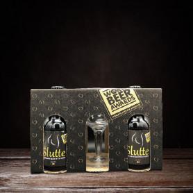SLUTTE Coffret cadeau 4 Slutte + 1 verre