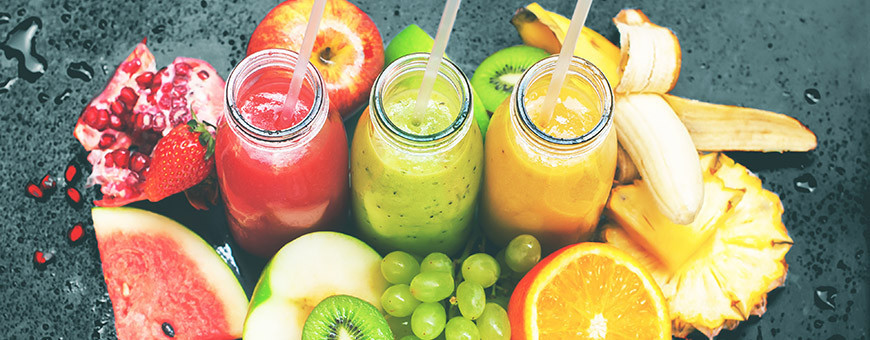 NOTRE SELECTION DE JUS DE FRUITS
